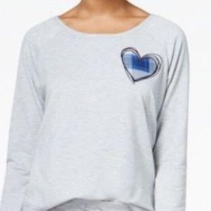 Jenny by Jennifer Moore Hearth Pajama Top Size L